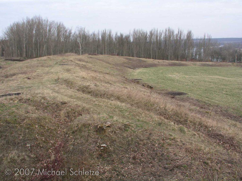 Früheisenzeitlicher und slawischer Burgwall von Lossow an der Oder