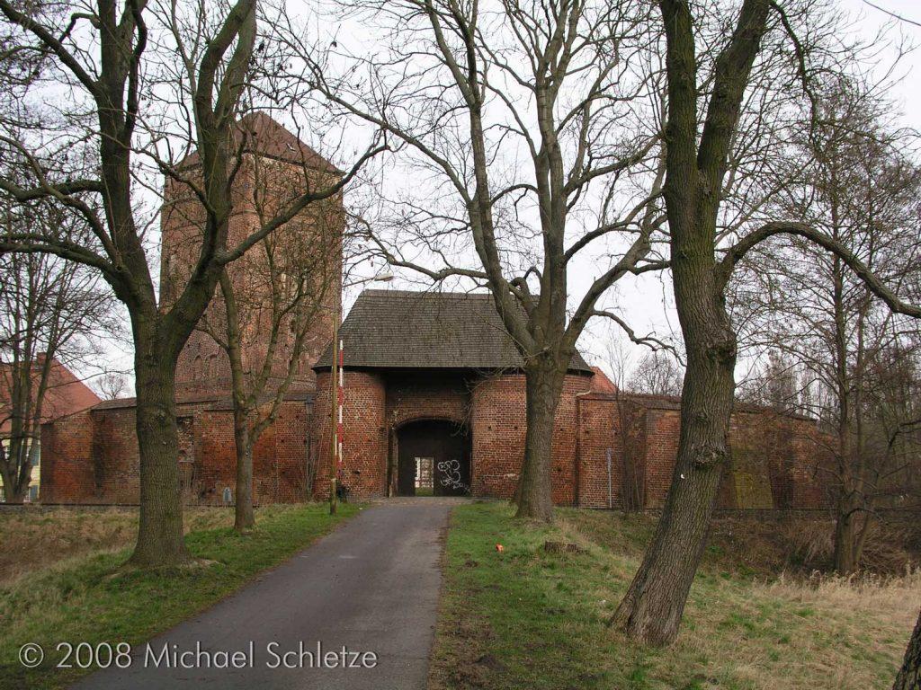 Bischofsburg Wittstock als Teil der Stadtbefestigung