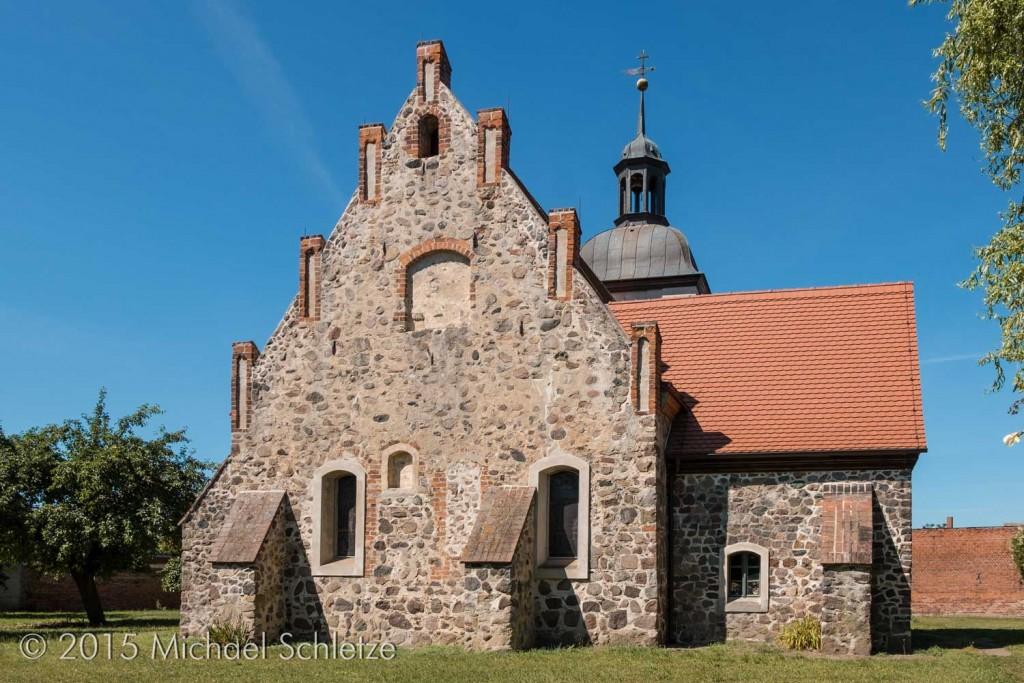 Barockzeitliche vollkommen umgestaltet und zu Beginn des 20. Jahrhunderts abgebrannt: Die Dorfkirche von Dergenthin