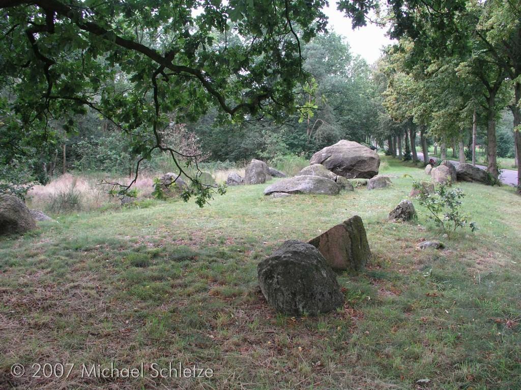 Das Grab im Jahr 2007