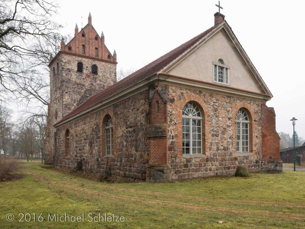 Im 19. Jahrhundert stark überformt: Das Gotteshaus in Jahnsfelde