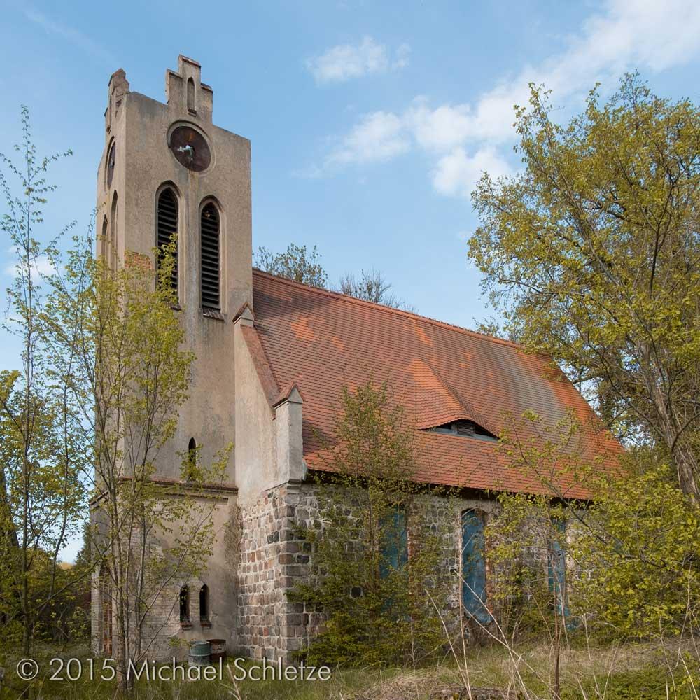 Seit langem schon Ruine: Die frühere Dorfkirche von Sydow