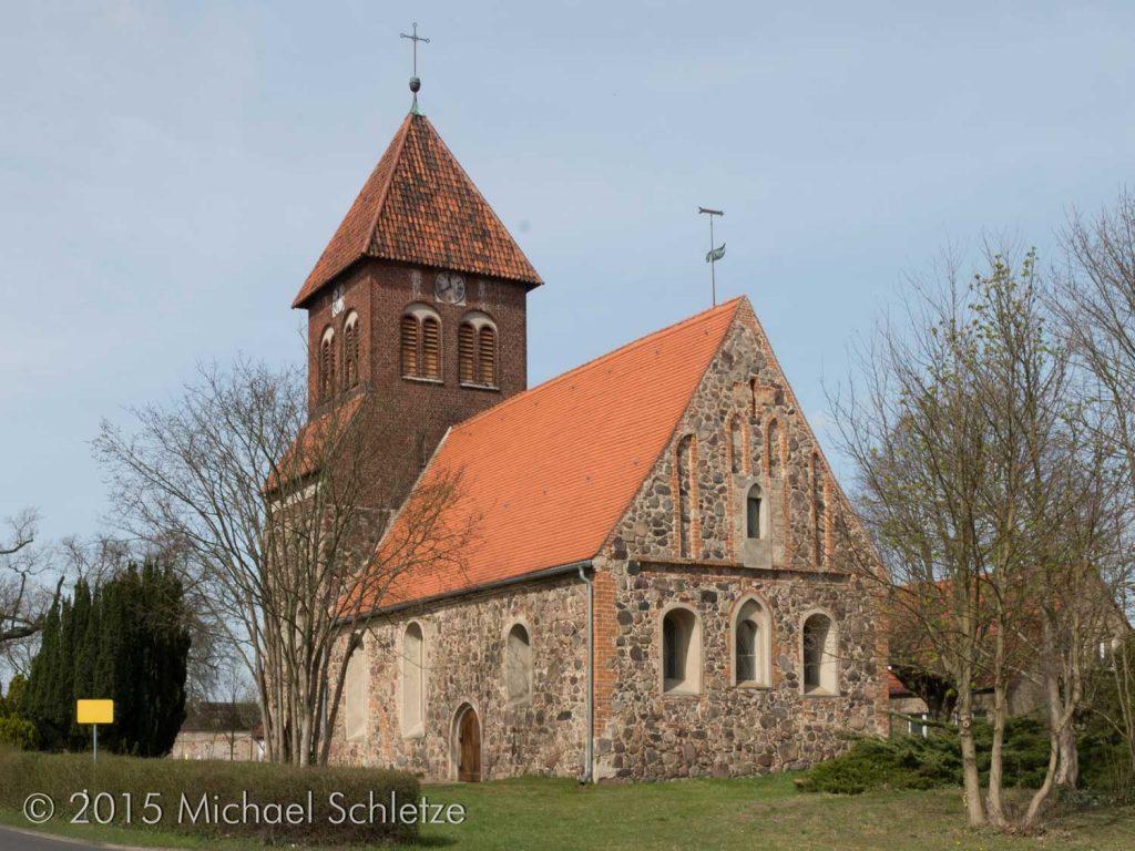 Dorfkirche Wensickendorf von Südosten